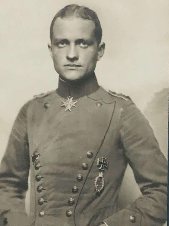 Manfred Von Richthofen  Sanke postcard