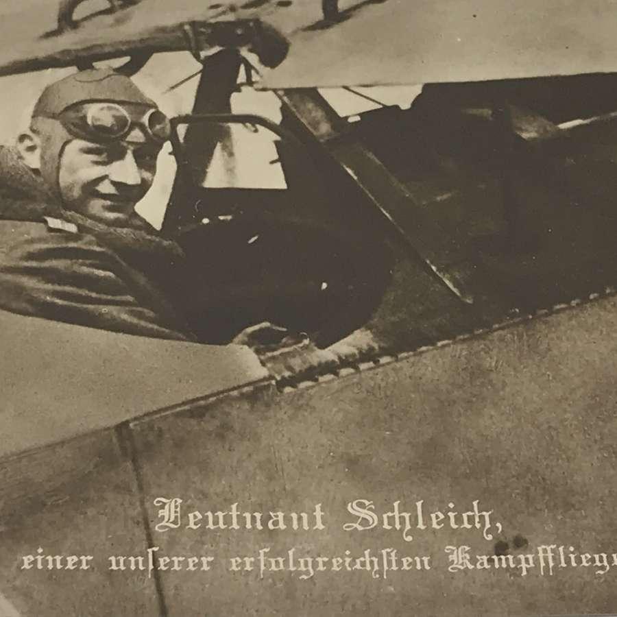 Postcard of Hauptmann Eduard Ritter Von Schleich