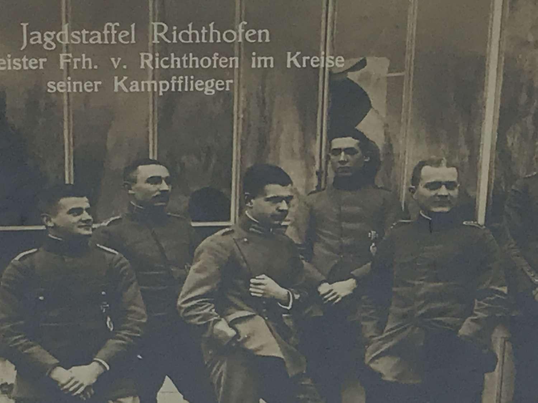 Sanke postcard of Jagdstaffel Richthofen