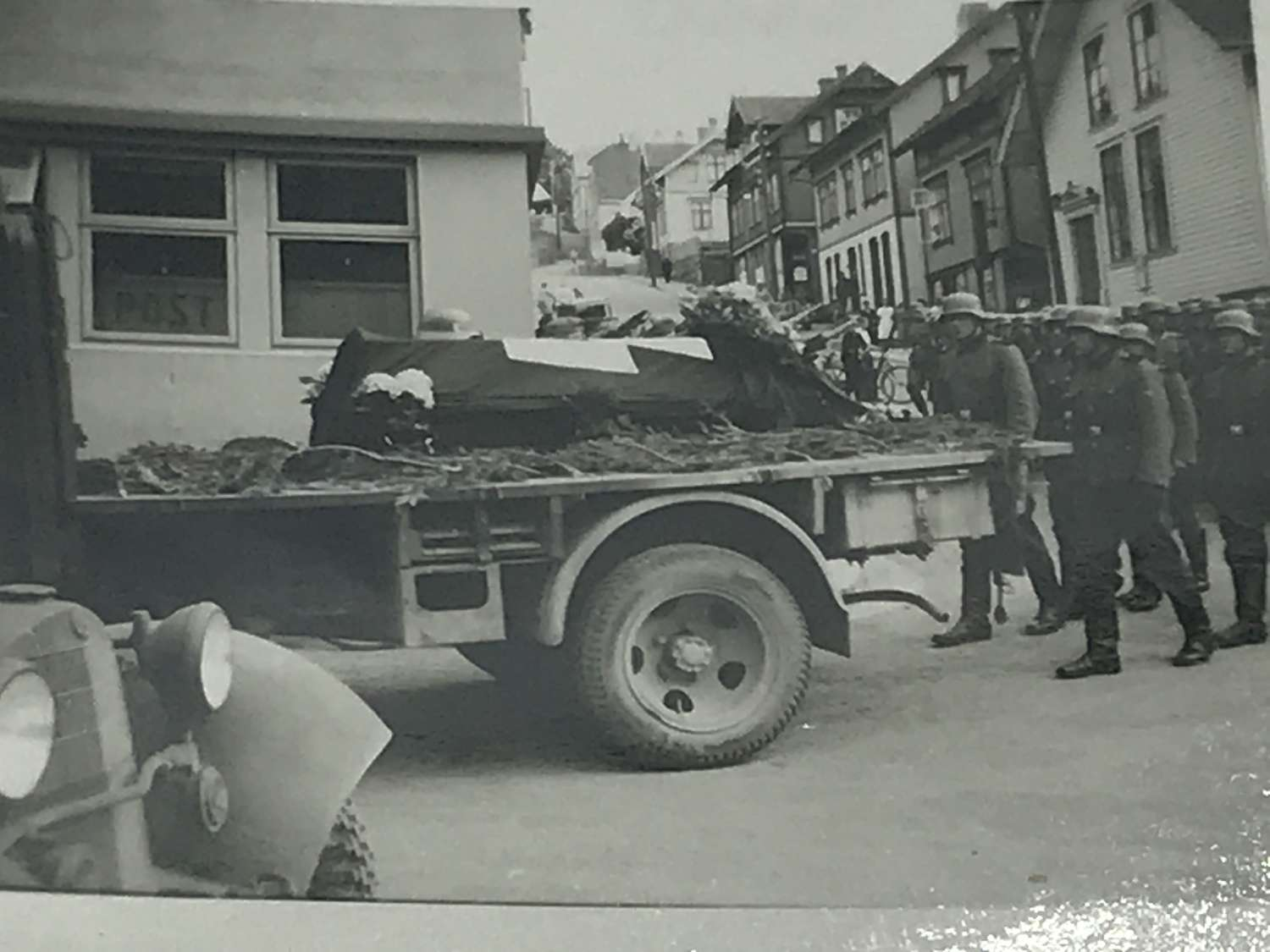 SS Funeral photograph 1940