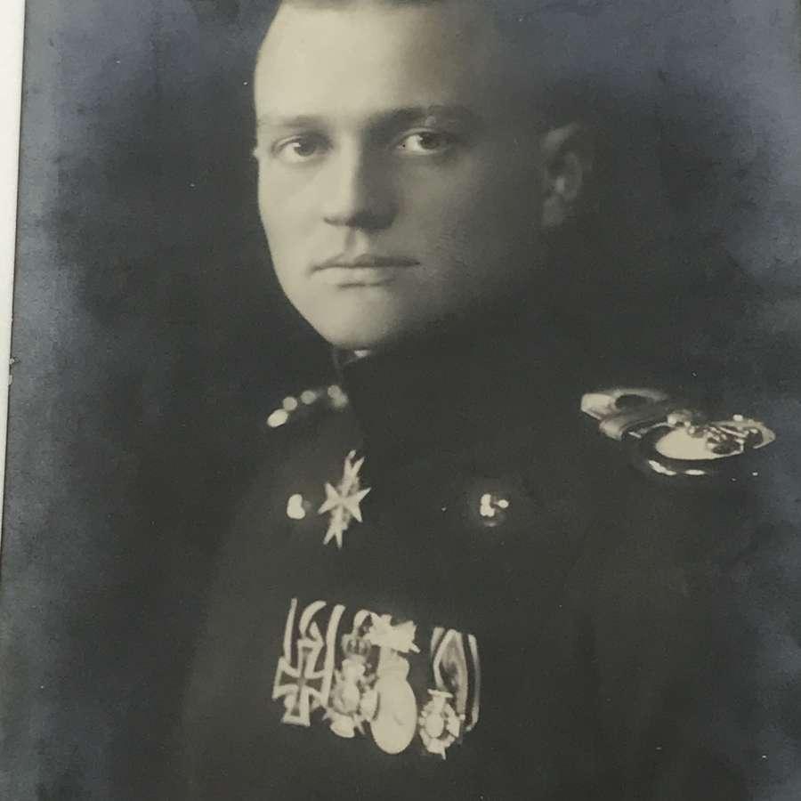 Von Richthofen Sanke postcard