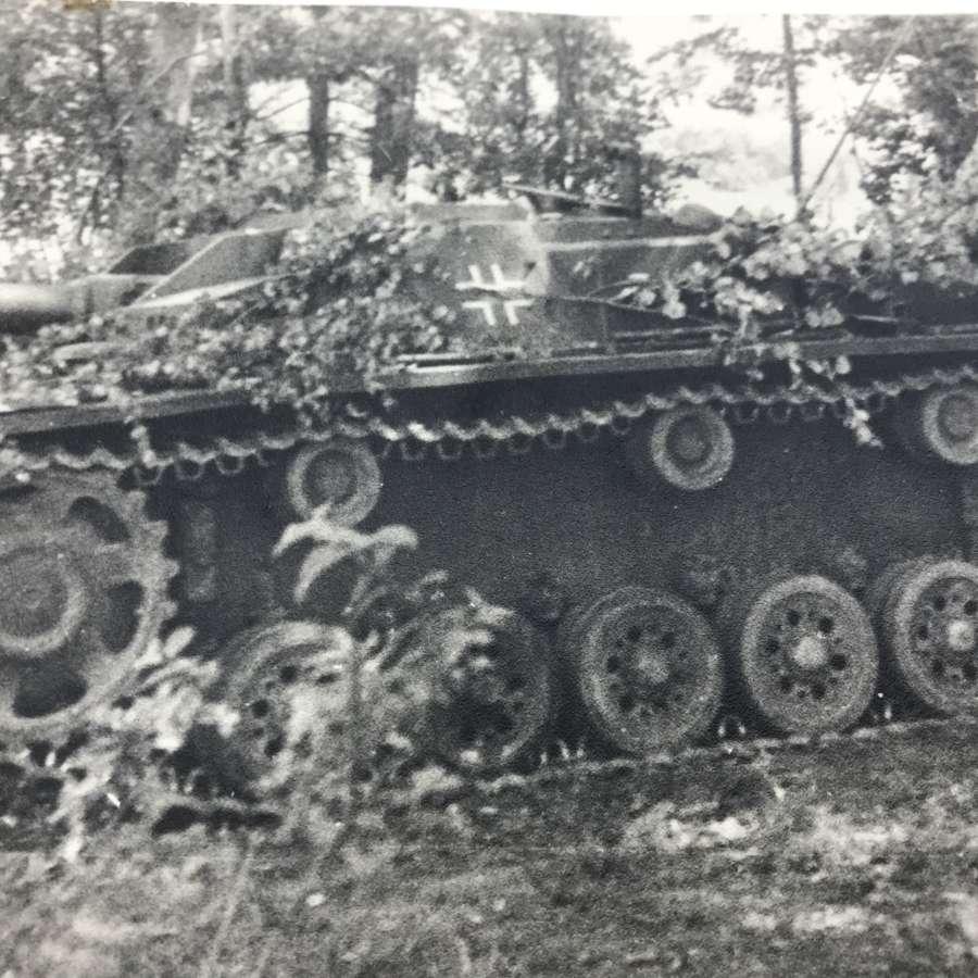 Stug photo dated 10/9/1943