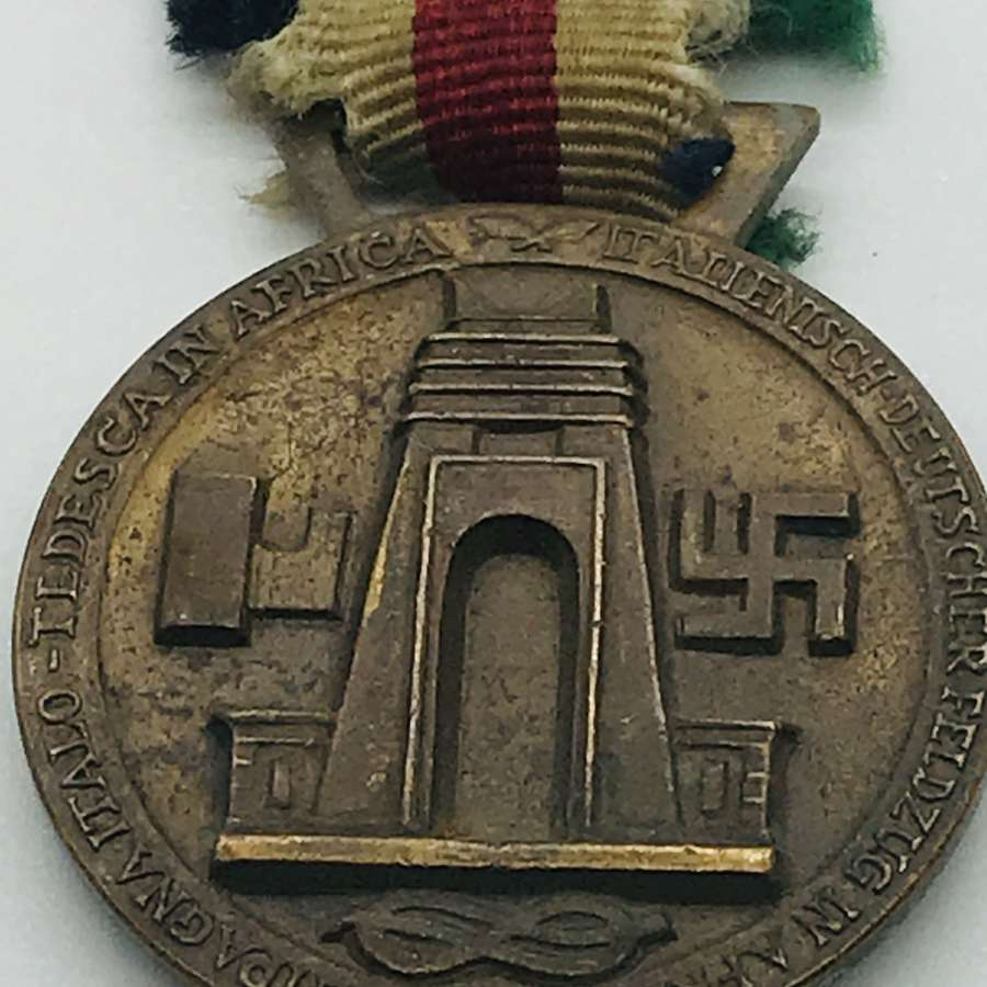 German Italian African campaign medal