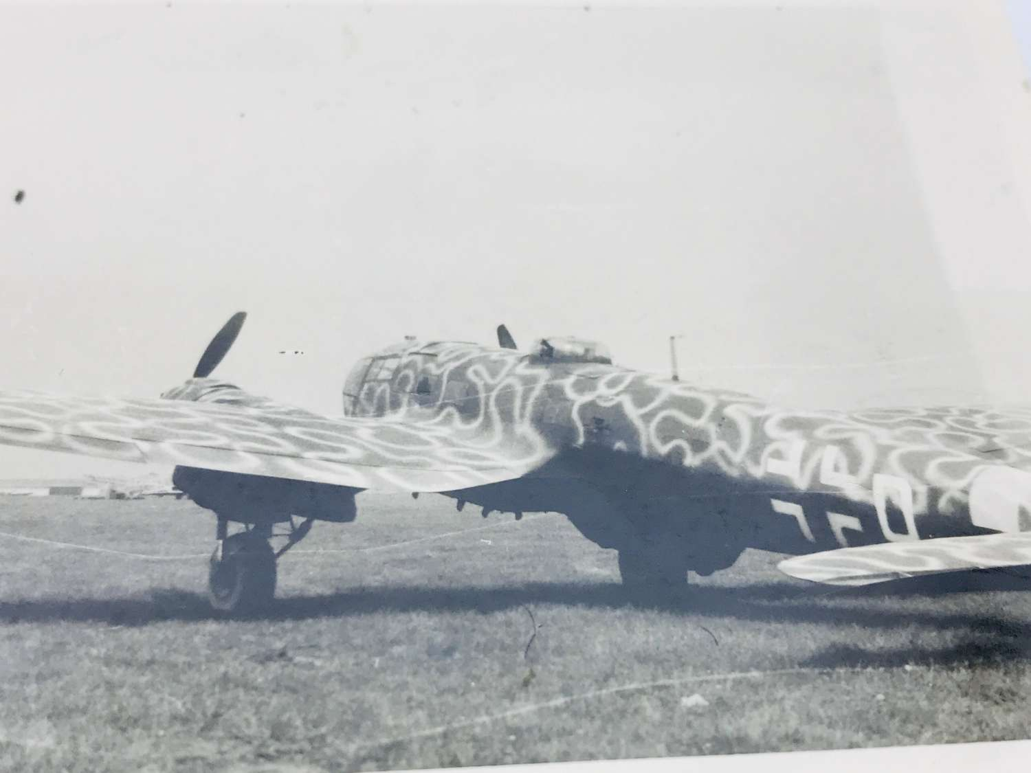 Heinkel HE111 with late war camouflaged