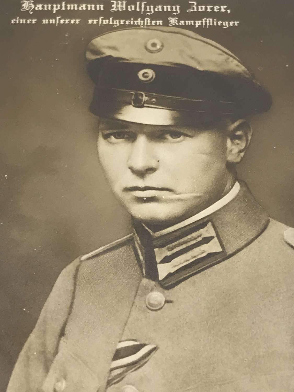 Wolfgang Zorer Sanke card