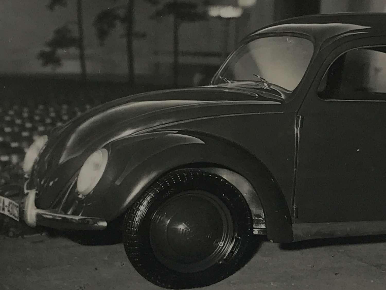 VW KDF beetle postcard 1939