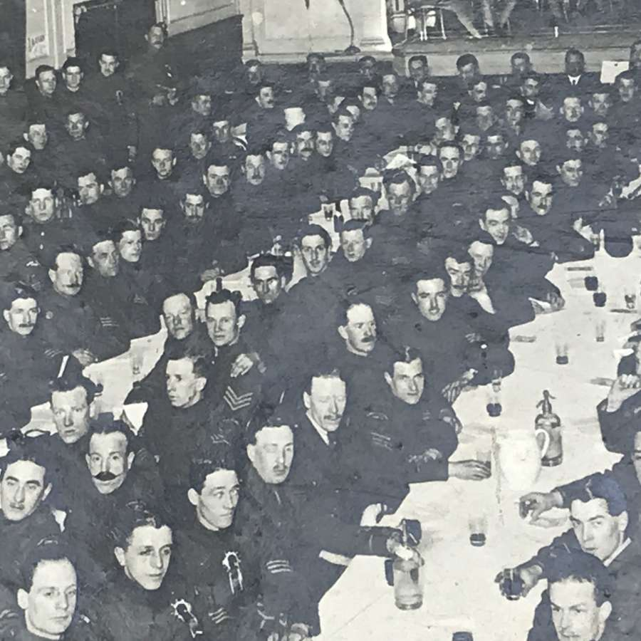 RFC officers and men dining photographs
