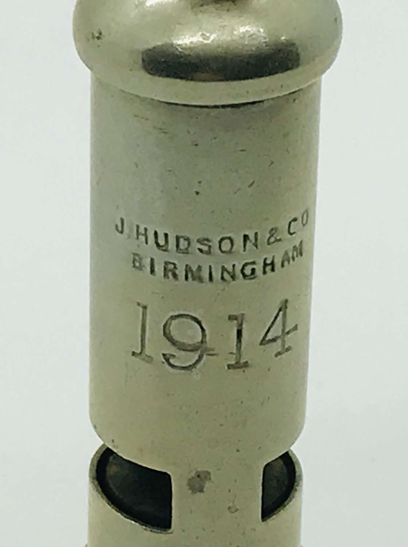 1914 whistle Birmingham made