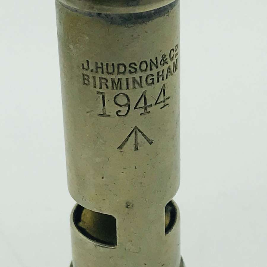 1944 Dated whistle