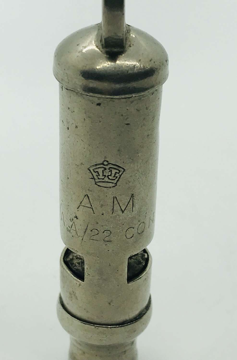 AM air Ministry marked whistle