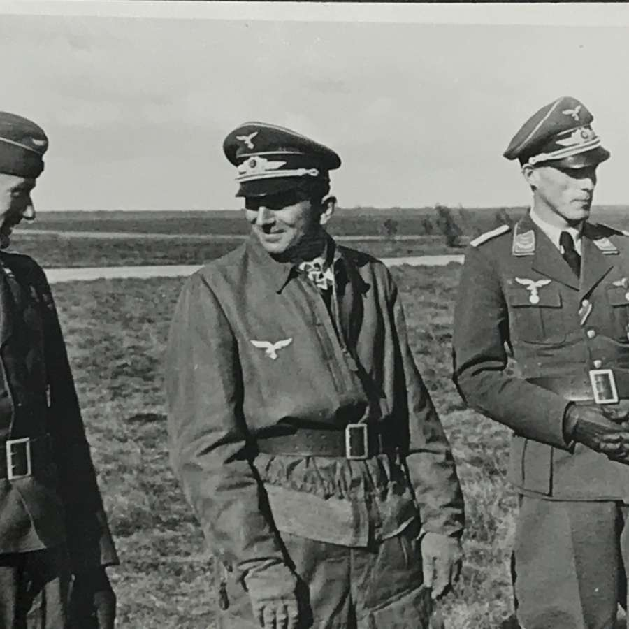 11 photos of Von Richthofen visit to JG2