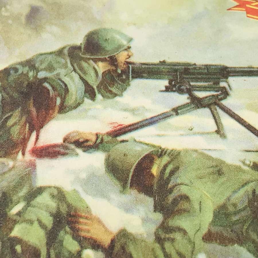 Italian propaganda postcard