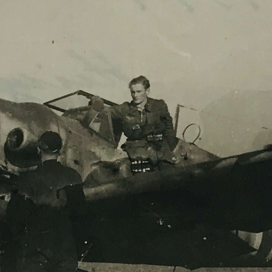 Messerschmitt BF 109 with Pilot