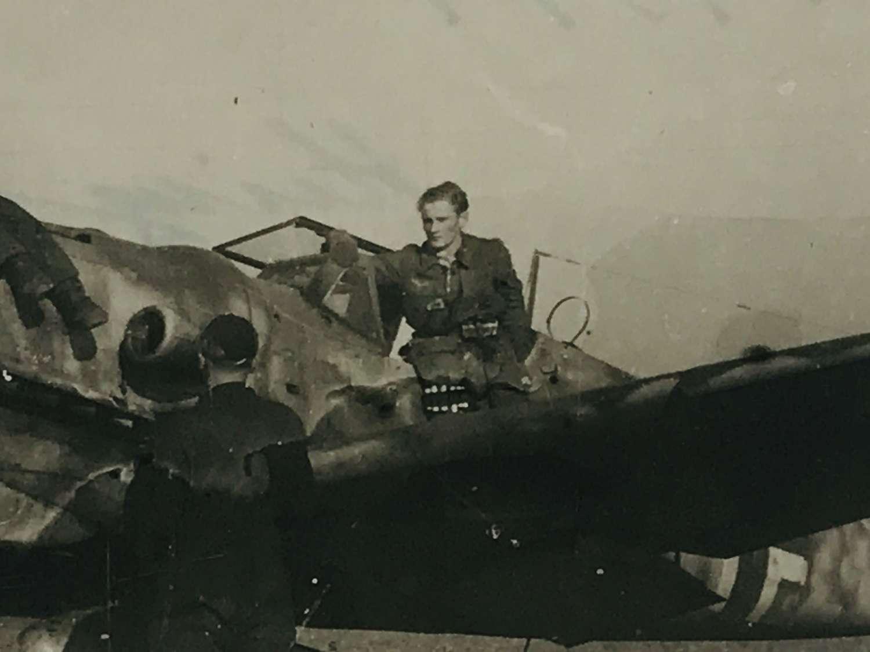 Messerschmitt BF 109 with Pilot