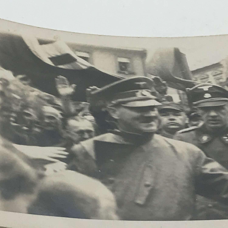 Postcard image of Hitler