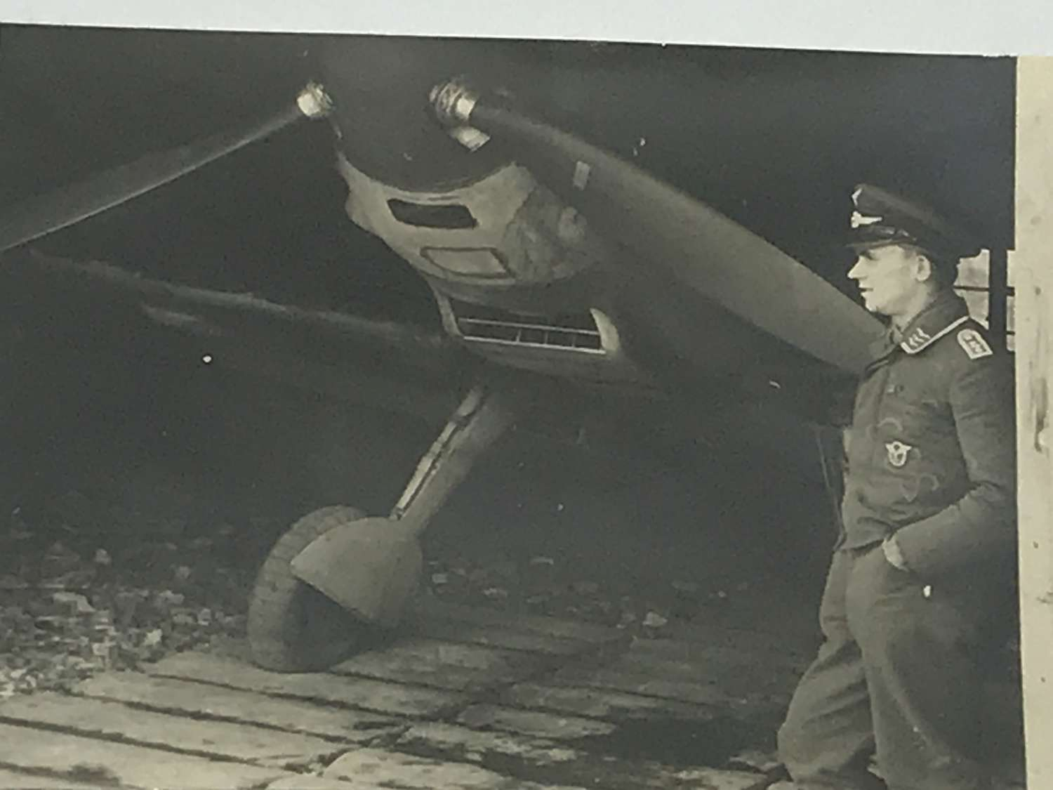 Pilot with his ME 109
