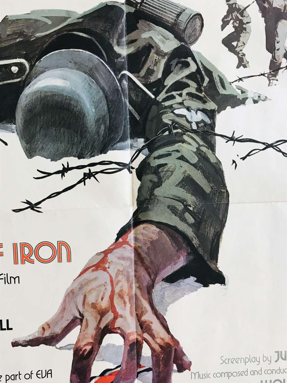 Cross of iron film poster 1977