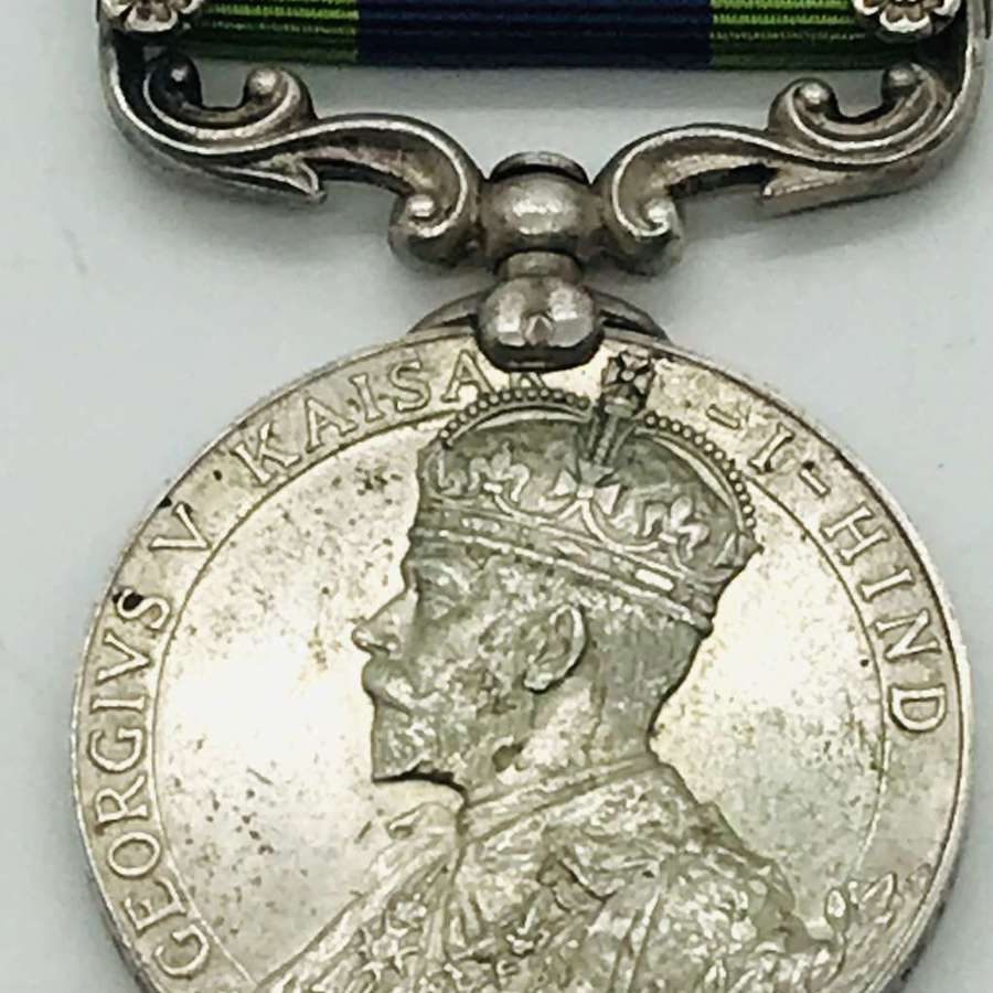 IGS medal with Afghanistan 1919 N.W.F