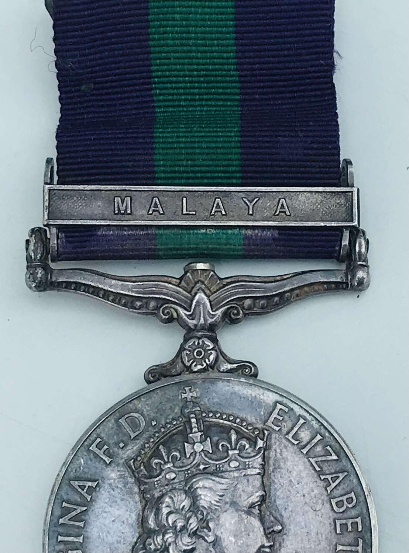 GSM Malaya bar RAF