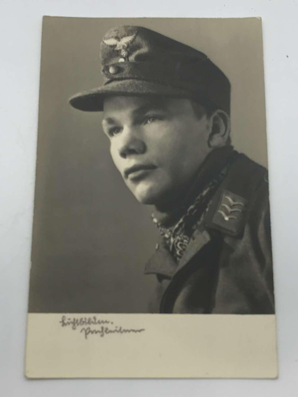 Portrait postcards of young Luftwaffe servicemen