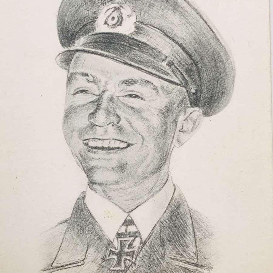Postcard of Gunther Prien  U-47