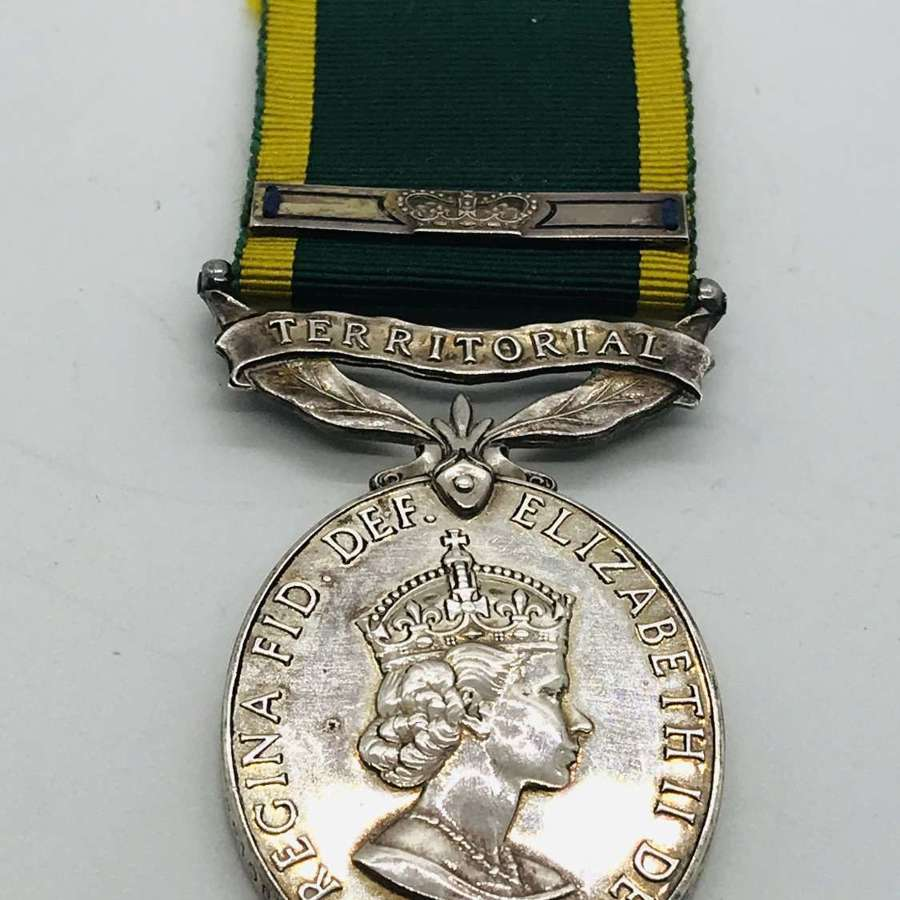 Queens territorial efficiency medal and bar