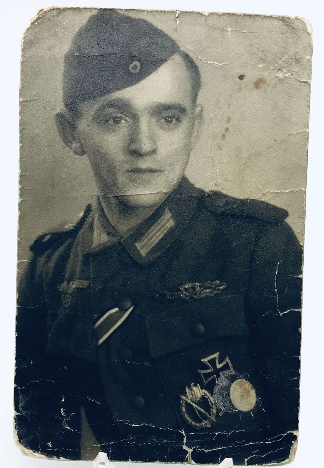 Image of highly decorated German soldier