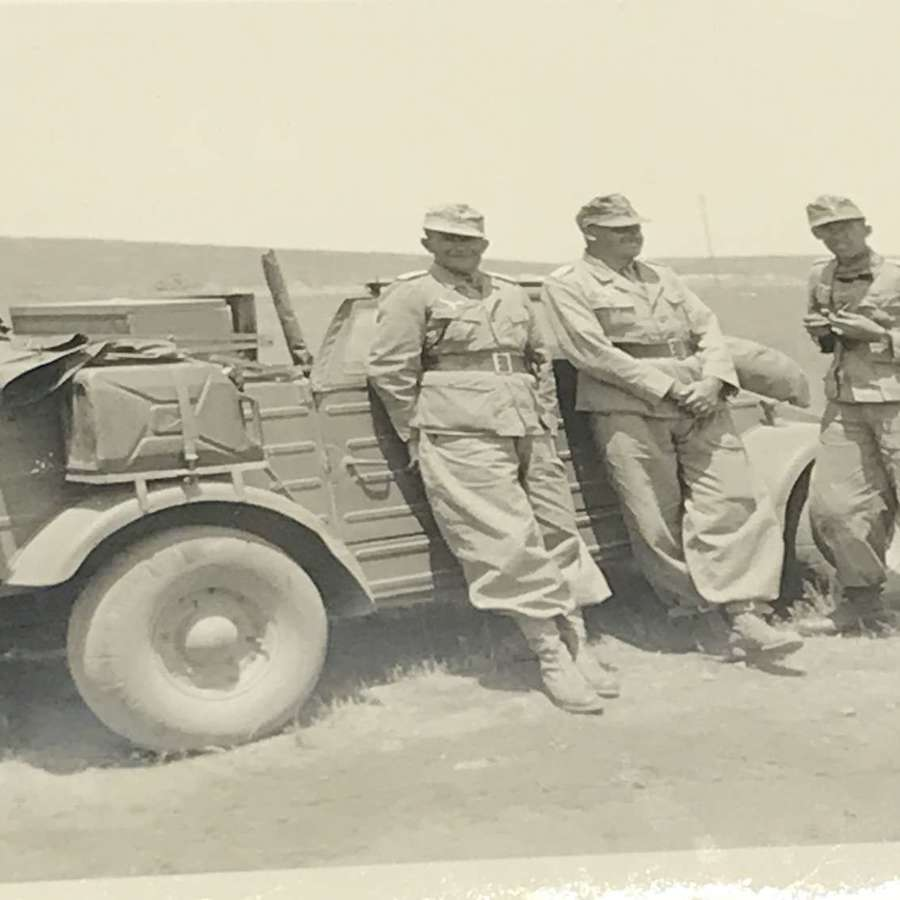 Small Luftwaffe Africa photo album